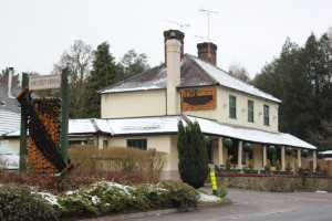 Tweseldown Pub in Church Crookham